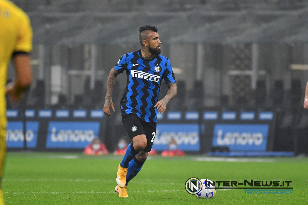 Arturo Vidal - Inter (Photo by Tommaso Fimiano, Copyright Inter-News.it)