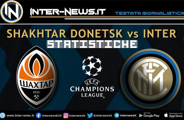 Shakhtar-Inter-statistiche