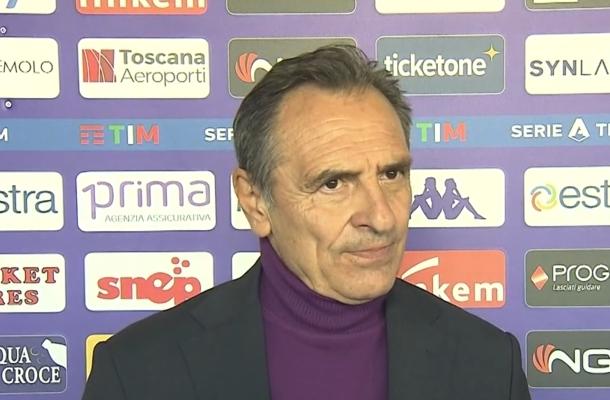 Cesare Prandelli Fiorentina-Sassuolo