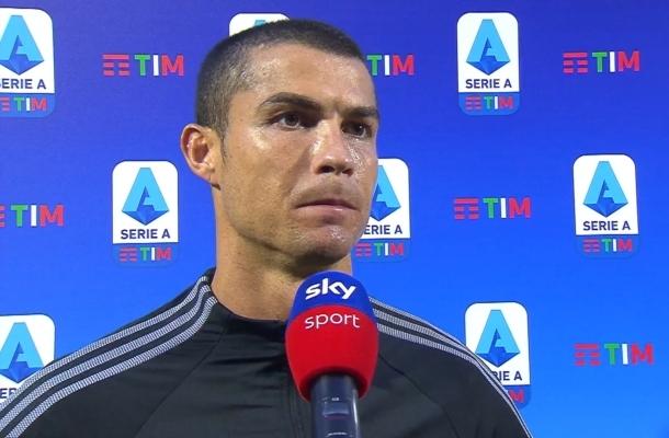 Cristiano Ronaldo Juventus-Roma