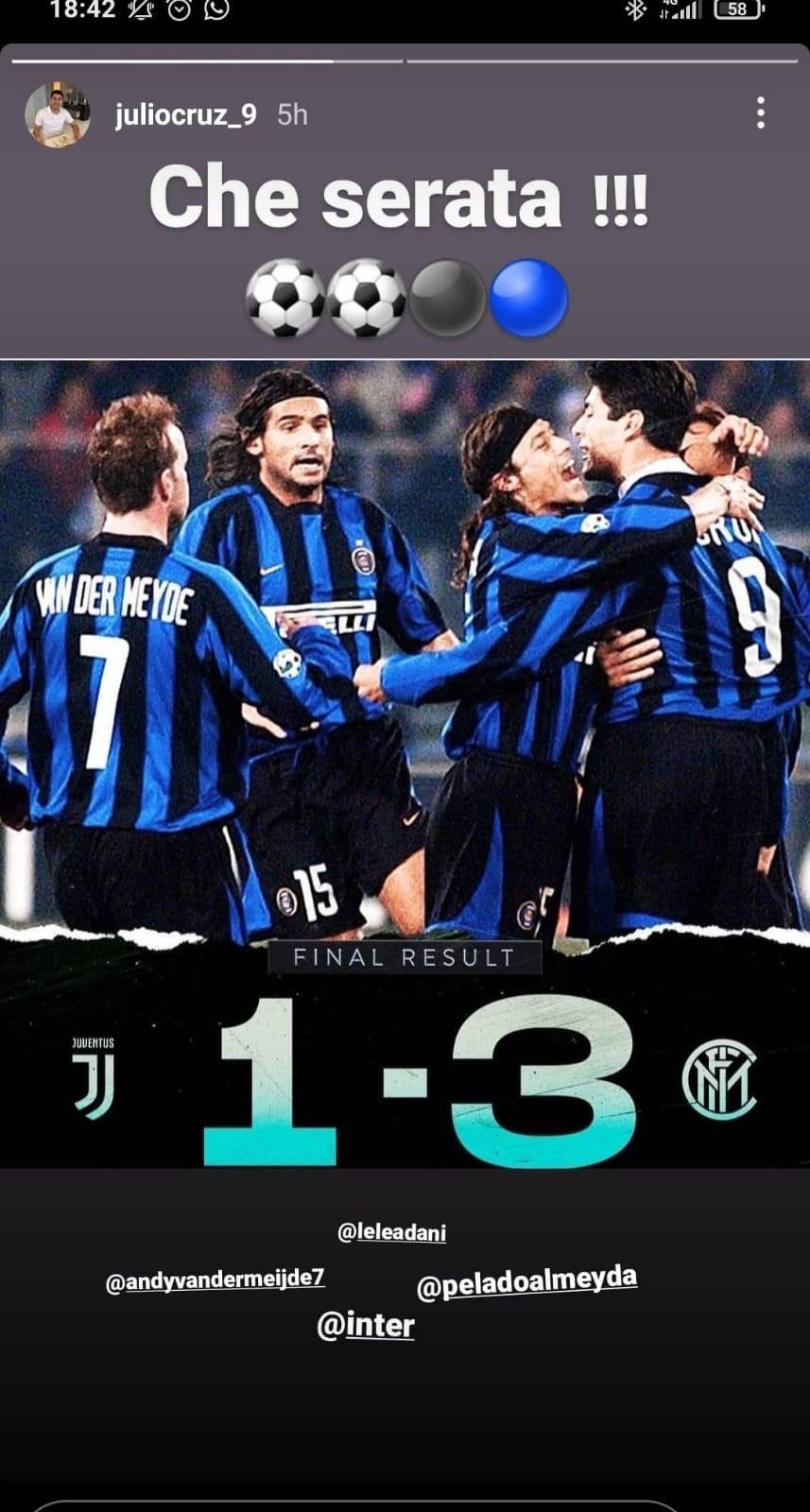 Cruz Juventus-Inter