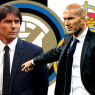 Inter-Real Madrid Antonio Conte vs. Zinedine Zidane