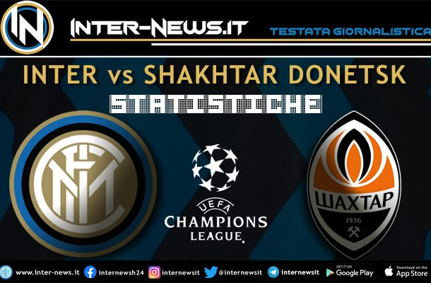 Inter-Shakhtar-statistiche