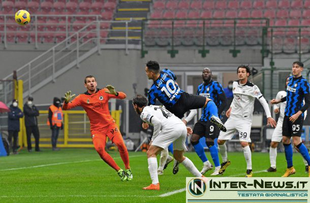Lautaro Martinez - Inter-Spezia - Copyright Inter-News.it, foto Tommaso Fimiano