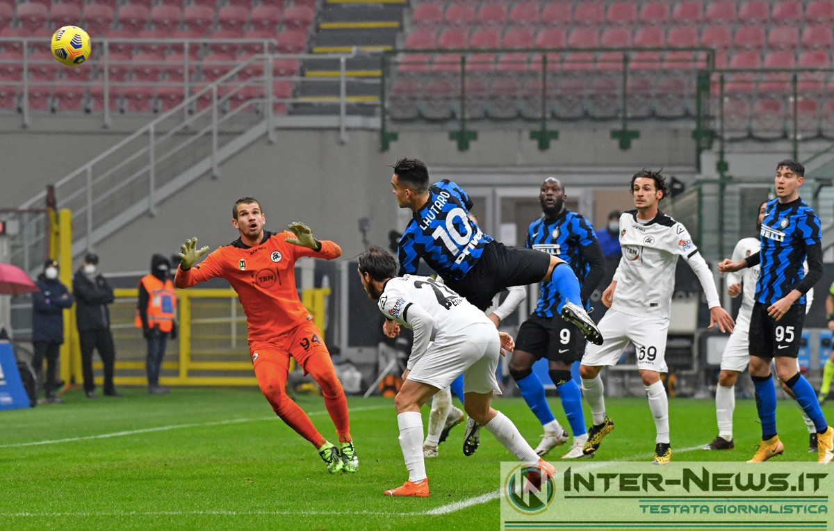 Lautaro Martinez - Inter-Spezia - Copyright Inter-News.it, foto Tommaso Fimiano