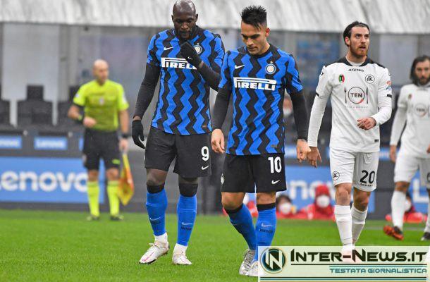 Lukaku - Lautaro - Inter-Spezia - Copyright Inter-News.it, foto Tommaso Fimiano