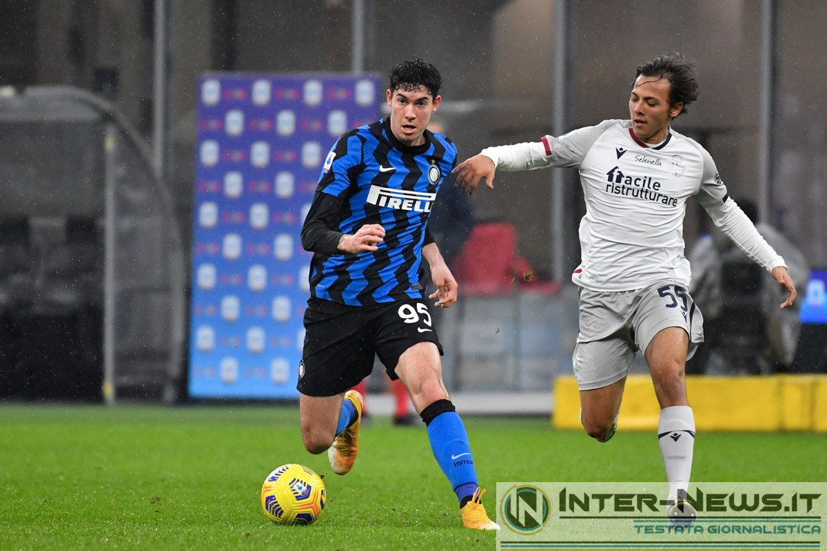 Alessandro Bastoni in Inter-Bologna (Photo by Tommaso Fimiano, Copyright Inter-News.it)