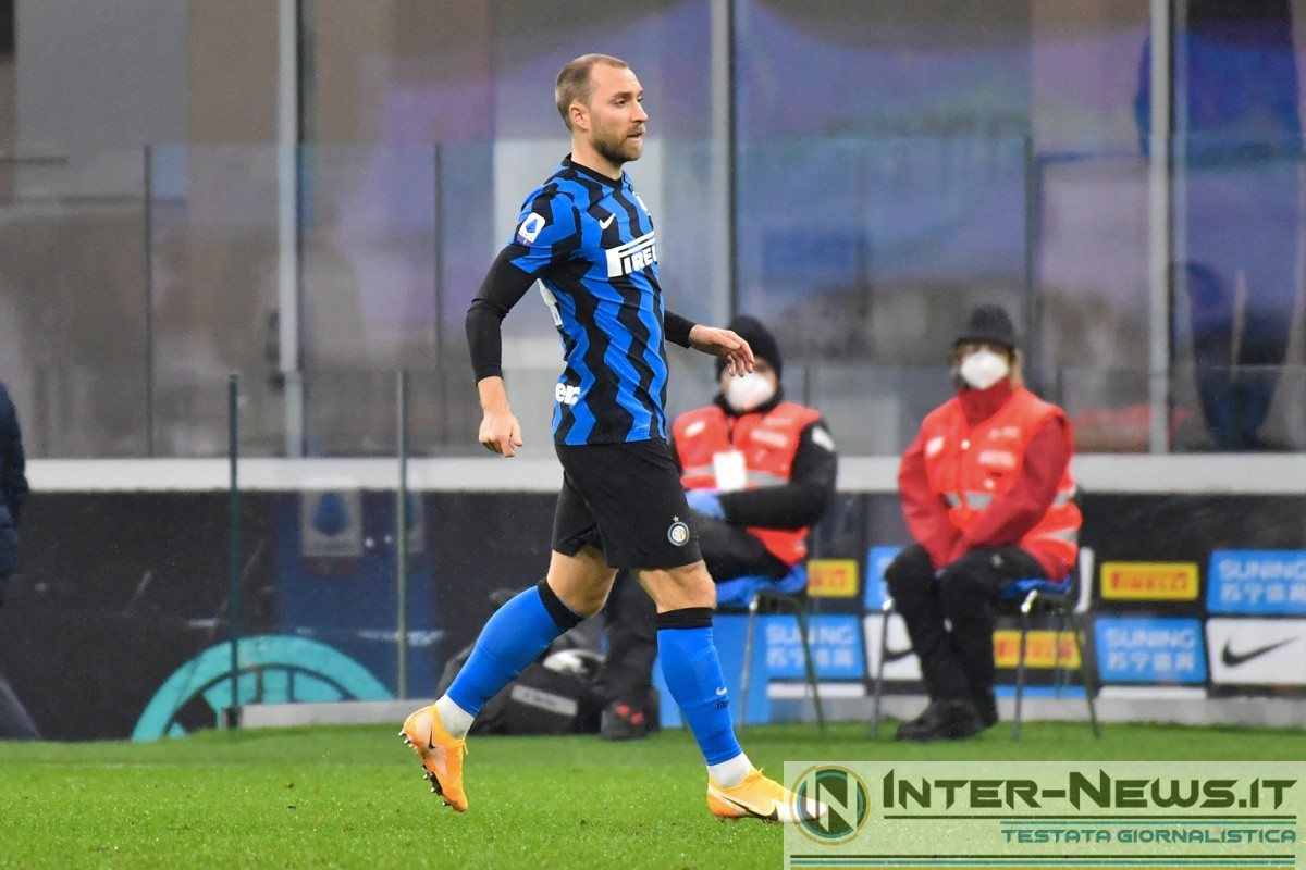 Eriksen - Copyright Inter-News.it, foto Tommaso Fimiano