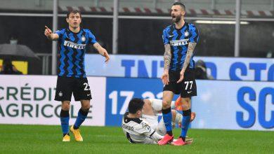Nicolò Barella e Marcelo Brozovic - Inter (Photo by Tommaso Fimiano, Copyright Inter-News.it)