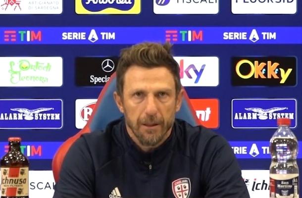 Eusebio Di Francesco Cagliari-Inter