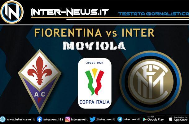 Fiorentina-Inter Coppa Italia moviola