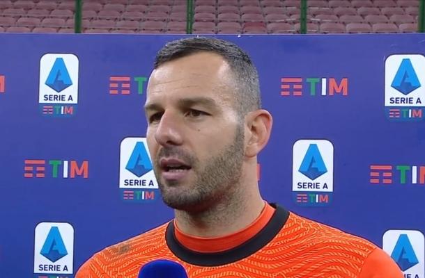 Samir Handanovic Inter-Napoli