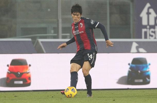 Takehiro Tomiyasu Bologna-Atalanta