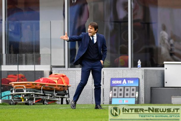 Antonio Conte in Juventus-Inter (Photo by Tommaso Fimiano, Copyright Inter-News.it)