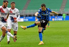 Ivan Perisic in Inter-Crotone (Photo by Tommaso Fimiano, Copyright Inter-News.it)