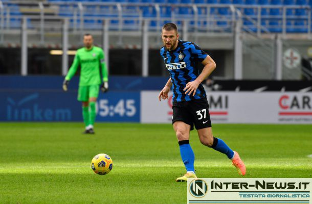Skriniar Roma-Inter - Copyright Inter-News.it, foto Tommaso Fimiano