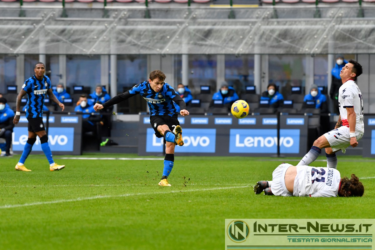 Barella - Inter-Crotone - Copyright Inter-News.it, foto Tommaso Fimiano