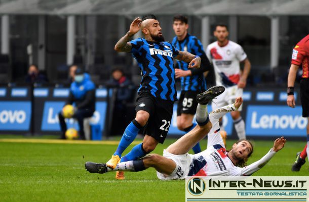 Vidal - Inter-Crotone - Copyright Inter-News.it, foto Tommaso Fimiano