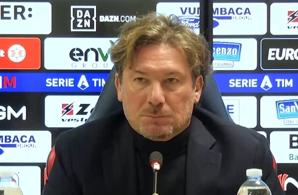 Giovanni Stroppa Crotone-Benevento