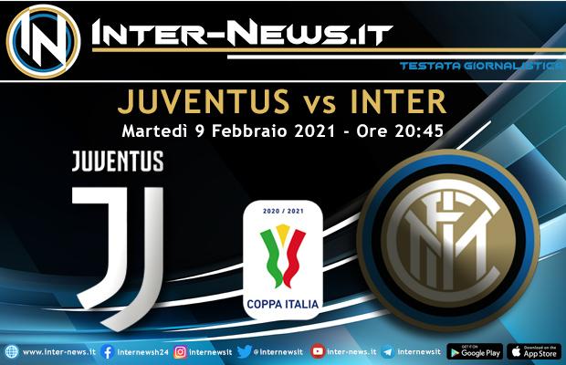 Juventus-Inter Coppa Italia
