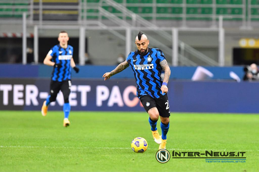 Vidal Inter-Milan Coppa Italia - Copyright Inter-news.it - Foto Tommaso Fimiano