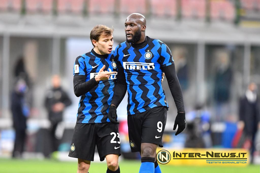 Lukaku - Barella - Inter-Milan Coppa Italia - Copyright Inter-news.it - Foto Tommaso Fimiano