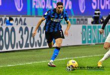 Achraf Hakimi in Inter-Milan di Coppa Italia (Photo by Tommaso Fimiano, Copyright Inter-News.it)