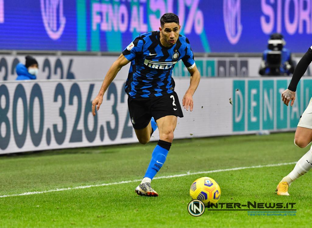 Hakimi - Inter-Milan Coppa Italia - Copyright Inter-news.it - Foto Tommaso Fimiano