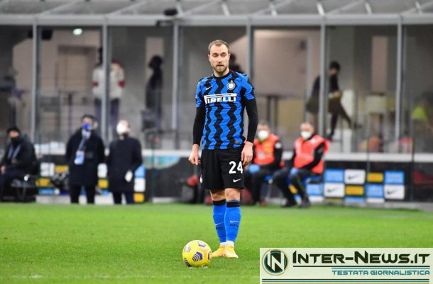 Eriksen - Inter-Milan Coppa Italia - Copyright Inter-news.it - Foto Tommaso Fimiano