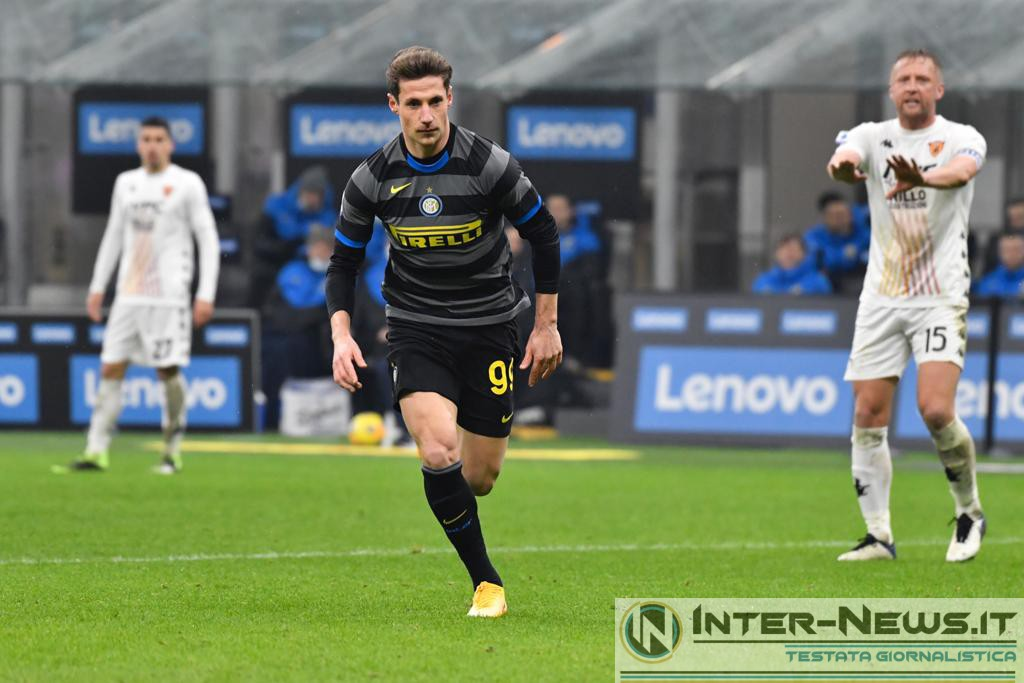 Andrea Pinamonti in Inter-Benevento (Photo by Tommaso Fimiano, Copyright Inter-News.it)