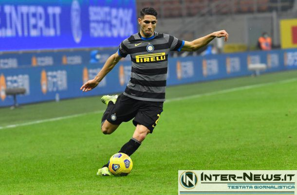 Hakimi, Inter-Benevento - Copyright Inter-News.it, foto Tommaso Fimiano
