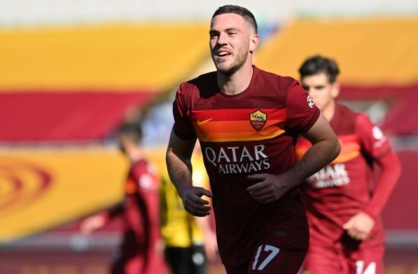 Jordan Veretout Roma-Udinese
