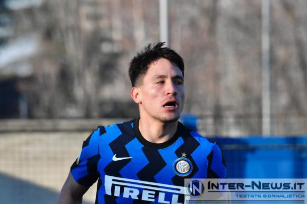 Martin Satriano - Inter Primavera (Photo by Tommaso Fimiano, Copyright Inter-News.it)