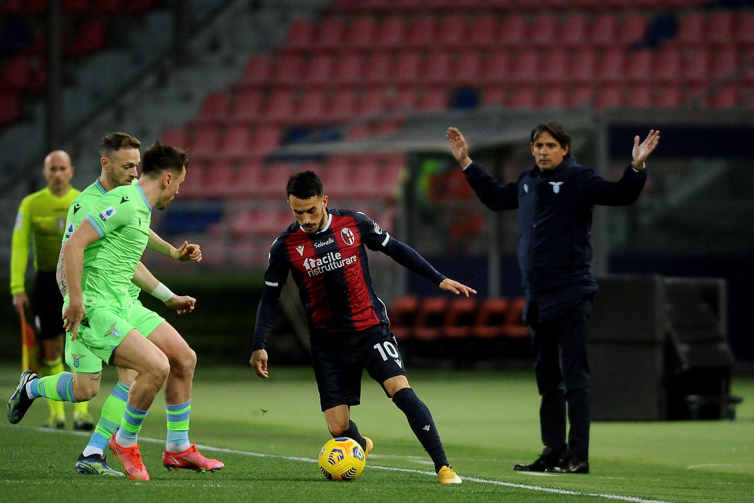 Nicola Sansone Bologna-Lazio