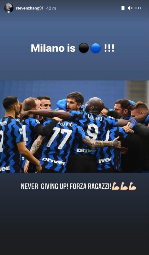 Steven Zhang Milan Inter