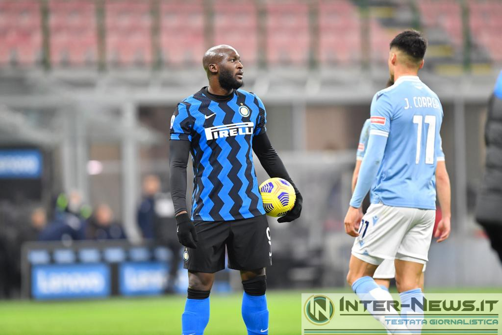Romelu Lukaku in Inter-Lazio (Photo by Tommaso Fimiano, Copyright Inter-News.it)