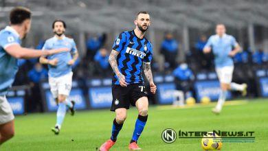 Marcelo Brozovic in Inter-Lazio (Photo by Tommaso Fimiano, Copyright Inter-News.it)