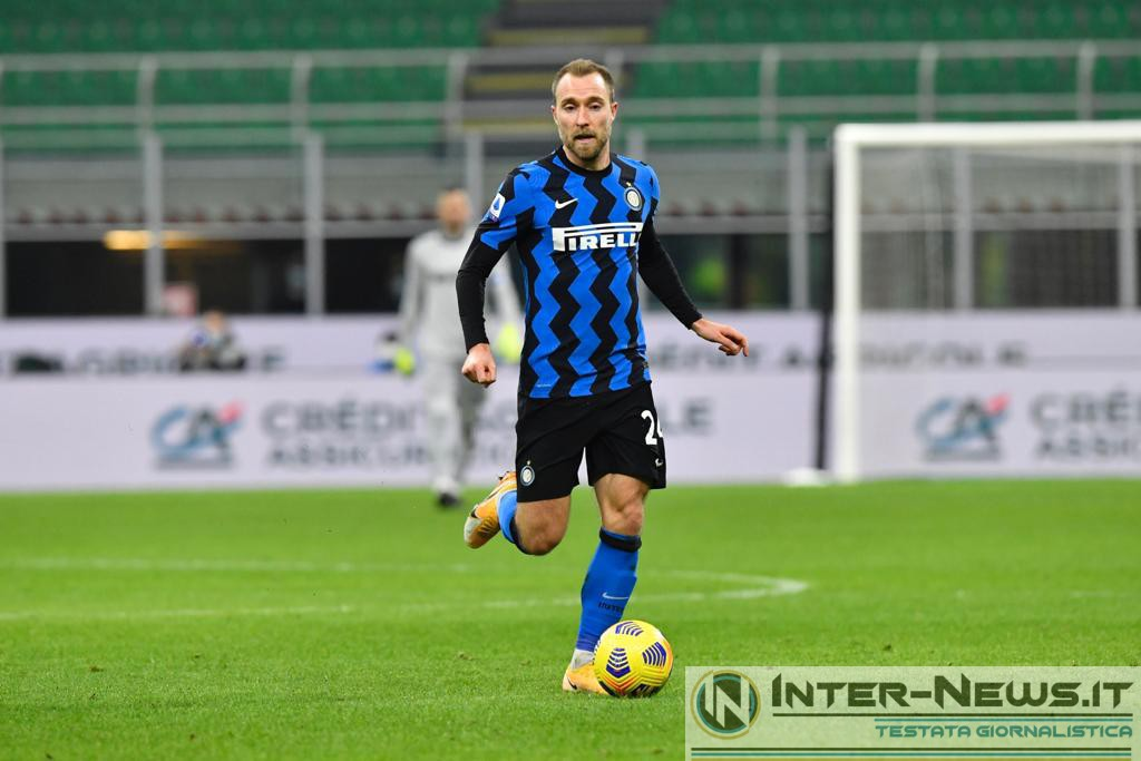 Eriksen - Inter-Lazio, copyright Inter-News.it, foto di Tommaso Fimiano