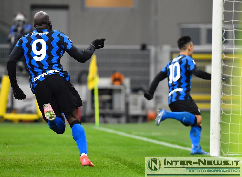 Lukaku-Lautaro Martinez Inter-Lazio, copyright Inter-News.it, foto di Tommaso Fimiano