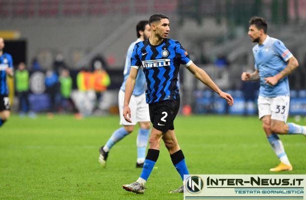Hakimi Inter-Lazio, copyright Inter-News.it, foto di Tommaso Fimiano