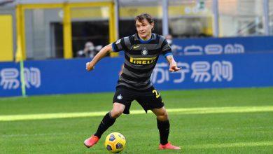 Nicolò Barella in Inter-Genoa (Photo by Tommaso Fimiano, Copyright Inter-News.it)