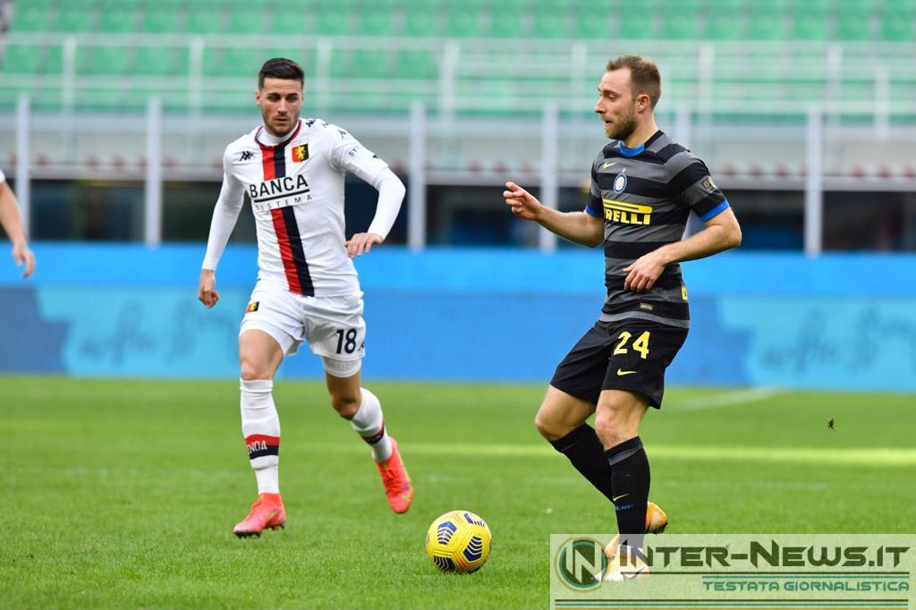 Eriksen, Inter-Genoa, copyright Inter-news.it, foto Tommaso Fimiano