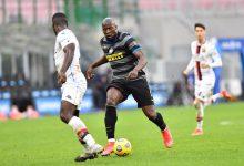 Romelu Lukaku in Inter-Genoa (Photo by Tommaso Fimiano, Copyright Inter-News.it)