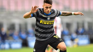 Lautaro Martinez in Inter-Genoa (Photo by Tommaso Fimiano, Copyright Inter-News.it)