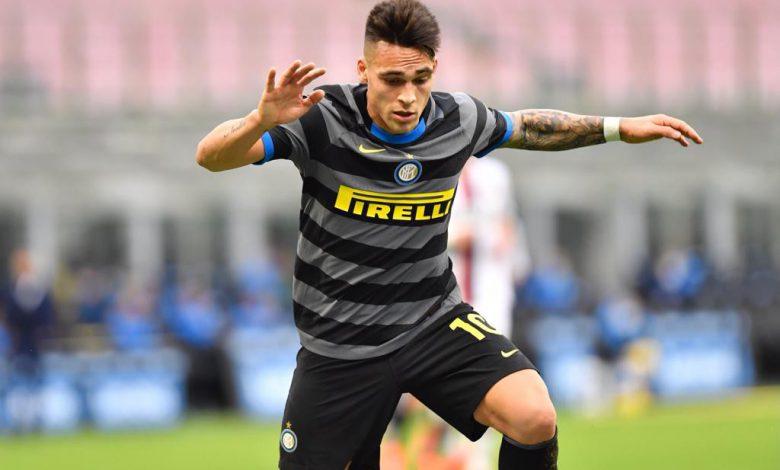 Lautaro Martinez in Inter-Genoa (Photo by Tommaso Fimiano, Copyright Inter-News.it)