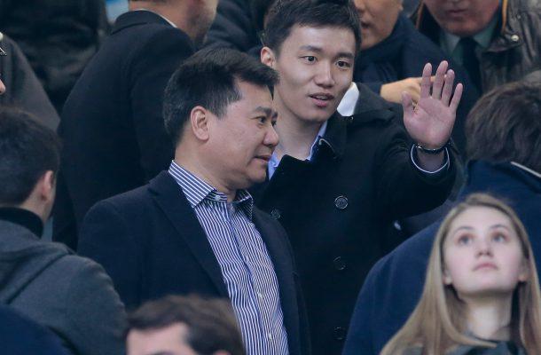Zhang Jindong e Steven (Suning - Inter)