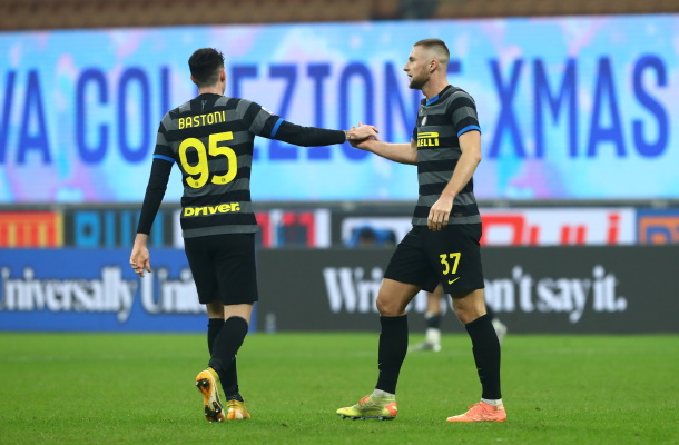 Alessandro Bastoni Milan Skriniar Inter