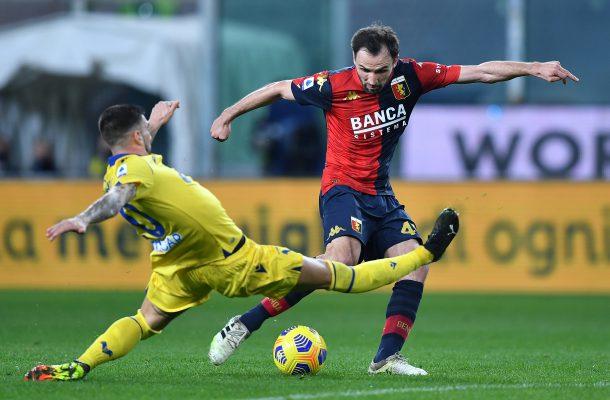 Milan Badelj Genoa-Verona