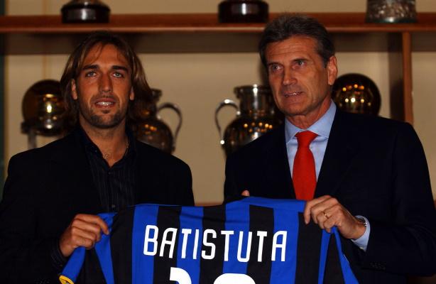 Gabriel Batistuta Giacinto Facchetti