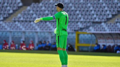Samir Handanovic in Torino-Inter (Photo by Tommaso Fimiano, Copyright Inter-News.it)